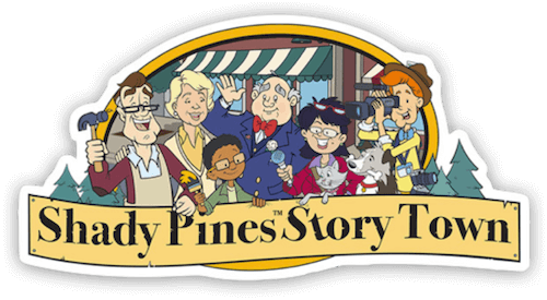 Shady Pines Story Town - Stories for kids and the caregiver adults who love them.