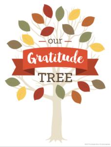 The Shady Pines Gratitude Tree