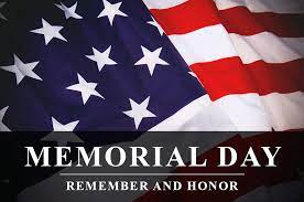 Time to Celebrate Memorial Day